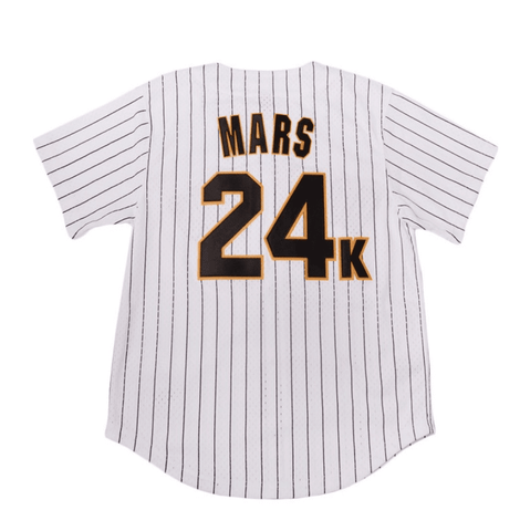Bruno Mars 24K Magic Hooligans Baseball Jersey Jersey Junkiez