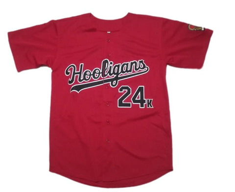 Bruno Mars 24K Hooligans Jersey Red