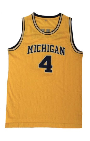 Chris Webber Michigan Jersey