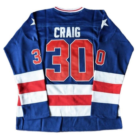 Jim Craig Miracle On Ice Team USA Hockey Jersey