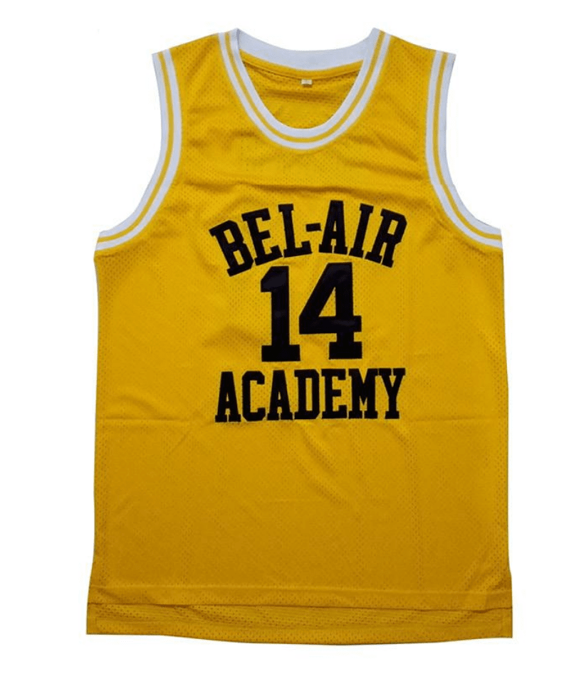 93bf813a8e84 Fresh Prince of Bel Air Basketball Jersey Jersey Junkiez