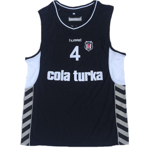 Allen Iverson Besiktas Cola Turka Basketball Jersey