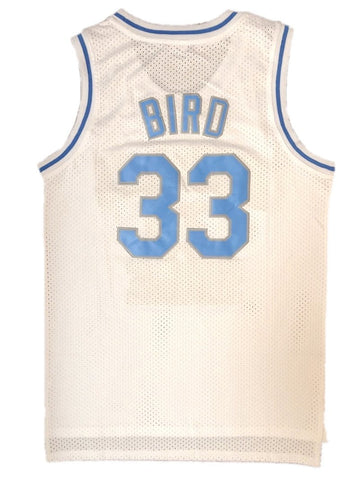 Larry Bird Indiana State Jersey White