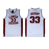 Lower Merion High School Kobe Bryant Basketball Jersey Jersey Junkiez