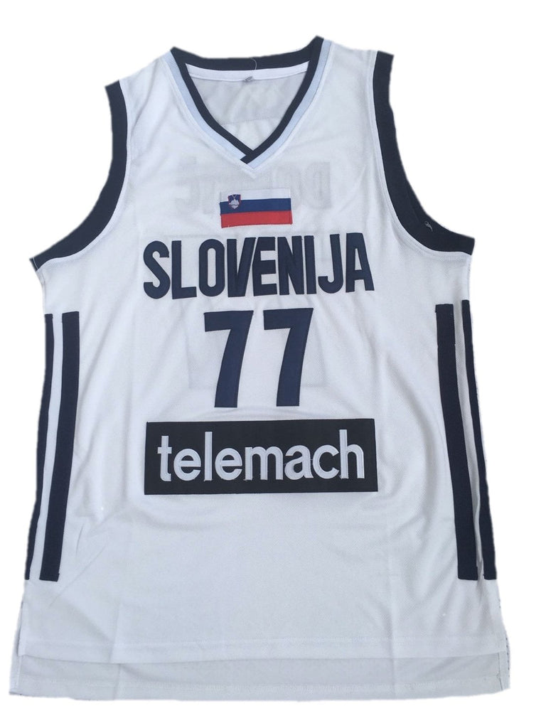 new products e0ae1 41489 Luka Doncic Slovenia Jersey