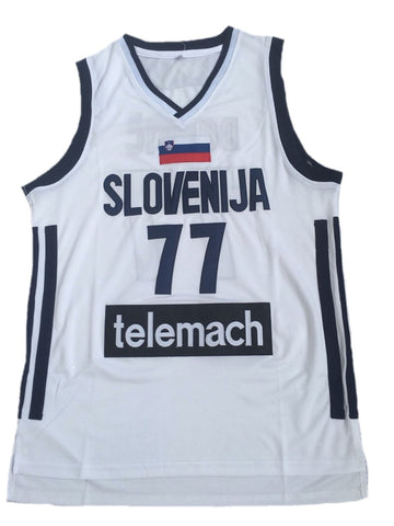 Luka Doncic Slovenia Jersey