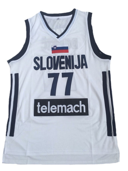 new products 8847b faa66 Luka Doncic Slovenia Jersey