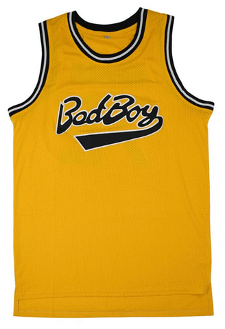 Notorious BIG Biggie Smalls Bad Boy Movie Basketball Jersey Jersey Junkiez 59114f79c