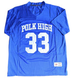 Al Bundy #33 Polk High Jersey Blue