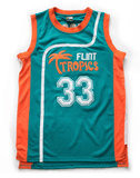 Semi Pro Movie Flint Tropics Basketball Jersey Jersey Junkiez