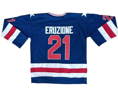 Mike Eruzione Miracle On Ice Team USA Hockey Jersey