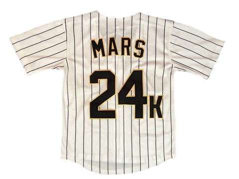 Youth Bruno Mars 24k Hooligans Jersey
