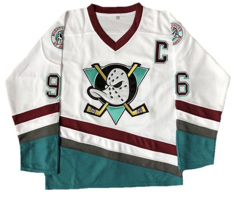 Youth Mighty Ducks Jersey White