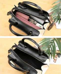 Leather Tote Bag For Women - Backpacks Oasis