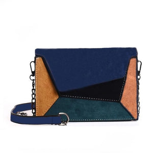 Patchwork Criss-Cross Bag