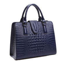 Crocodile Pattern Design Handbag