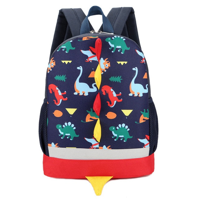 Cartoon Design School Knapsack - Backpacks Oasis
