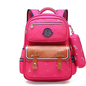 Children Orthopedic Waterproof School Bag Backpack Unisex - Backpacks Oasis