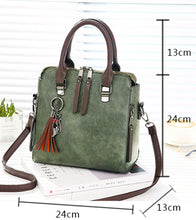 Boston Shaped Crossbody Handbag - Backpacks Oasis