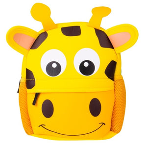 Animal Print School Backpack