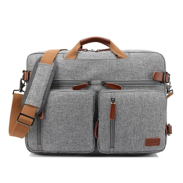 Convertible Messenger Briefcase Travel Bag