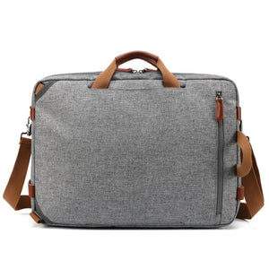 Convertible Messenger Briefcase Travel Bag - Backpacks Oasis