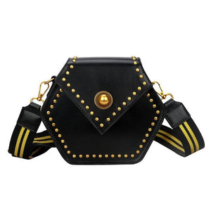 Hexagon Crossbody Handbag