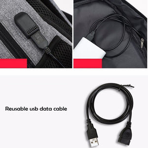 USB School Laptop Backpack