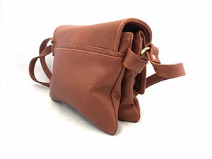 Tulip Jr. Leather Crossbody Handbag - Backpacks Oasis