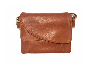 Tulip Jr. Leather Crossbody Handbag