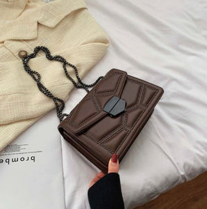 Small Rivet Chain Crossbody Bag