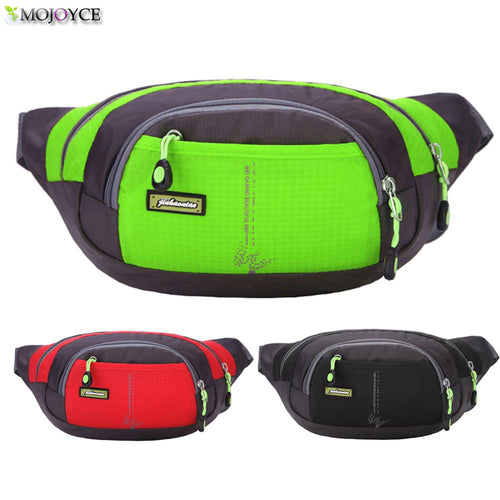 Quality Waist Pack For Men Women Casual Functional Fanny Pack Bum Bag Hip Money Belt Travelling Mountaineering Mobile Phone Bag
