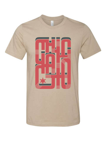 "chicago tshirt shirt of the month ""L"" train"