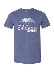 chicago skyline tshirt