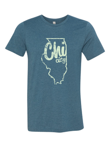 chicago tshirt shirt of the month illinois state lines