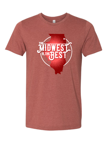 chicago midwest is the best t-shirt