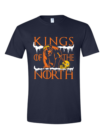 Chicago Bears Kings of the North tee tshirt NFC North Champions