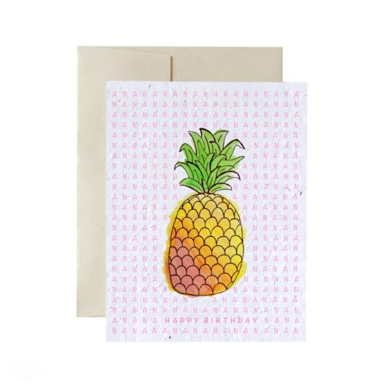 Carte à planter - Ananas