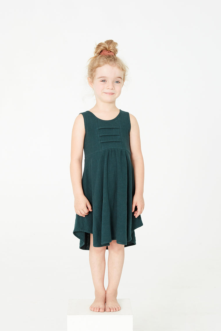 Robe Cokluch Mini HIBISCUS Sarcelle