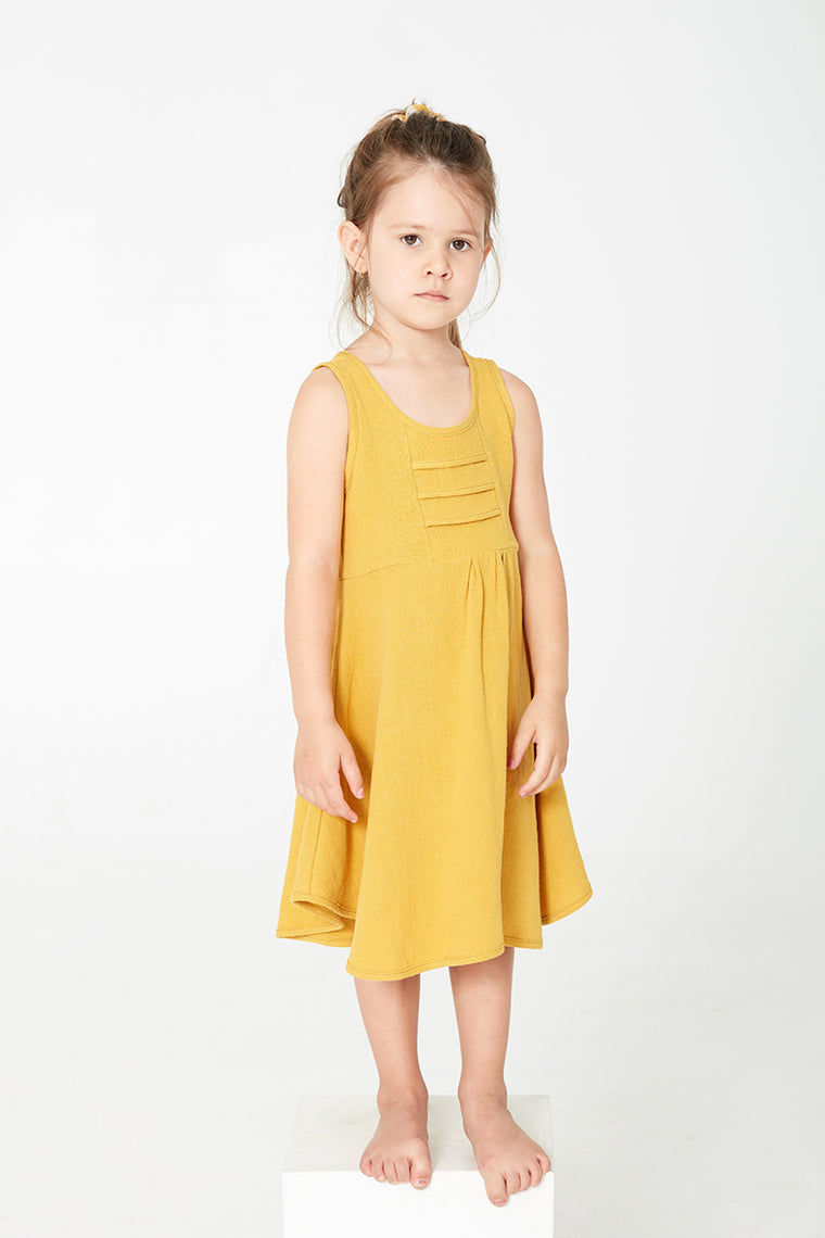 HIBISCUS dress - Mustard