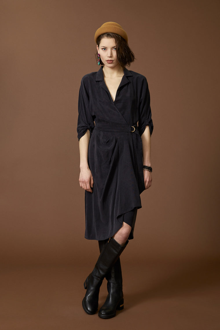 Dress CAPRICORNE - Black