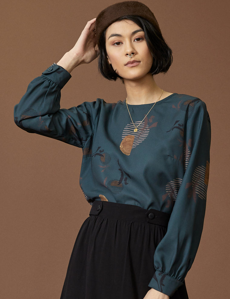 Blouse CARENE - Ara Teal