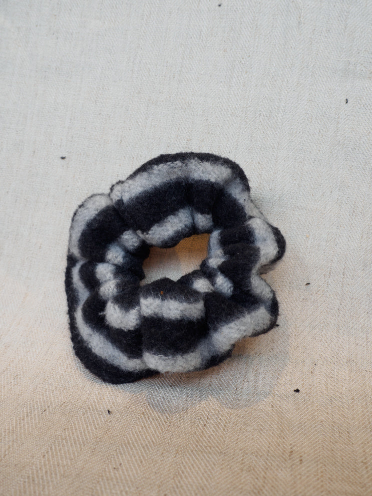 Scrunchie - Fleece Striped