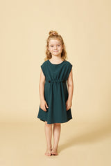 CAROUBE dress — Teal
