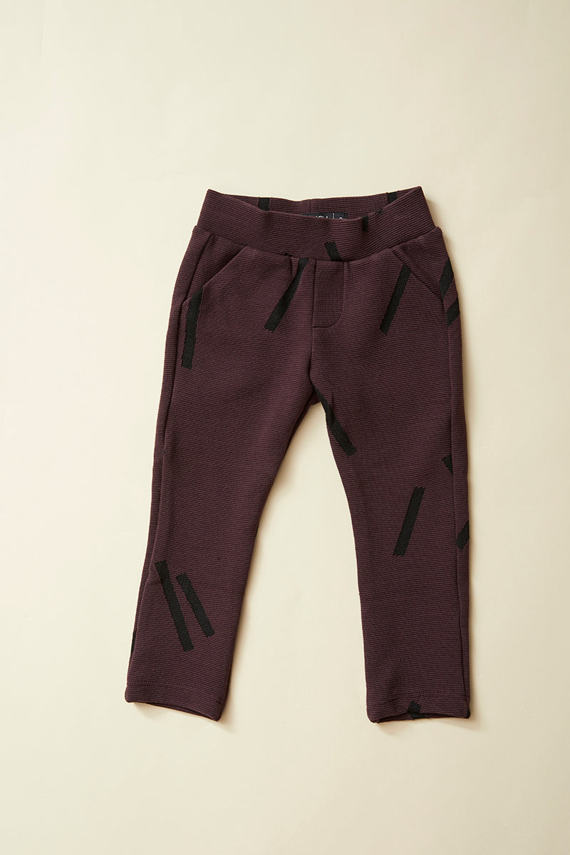 Pantalon PADDINGTON — Chopstick Prune