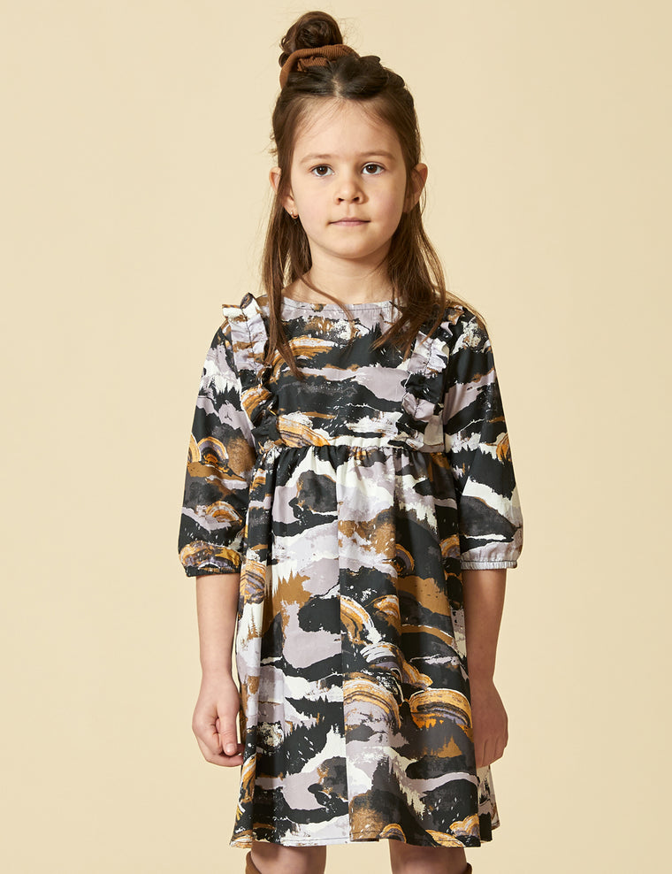 Dress CYGNE - Landscape