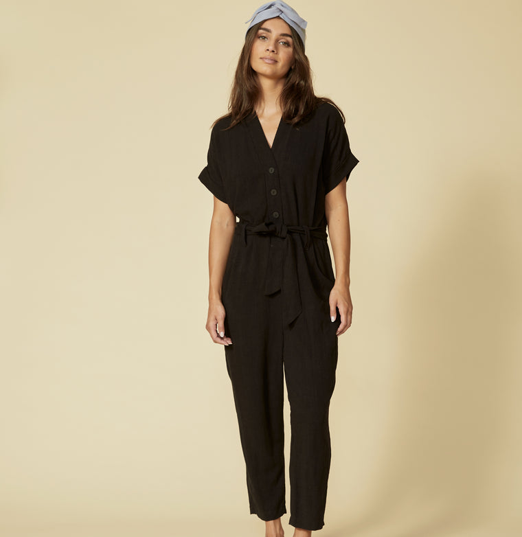 ESCOUMINS jumpsuit - Black