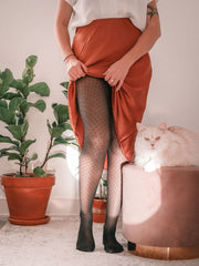 Tights - Fishnet pantyhose