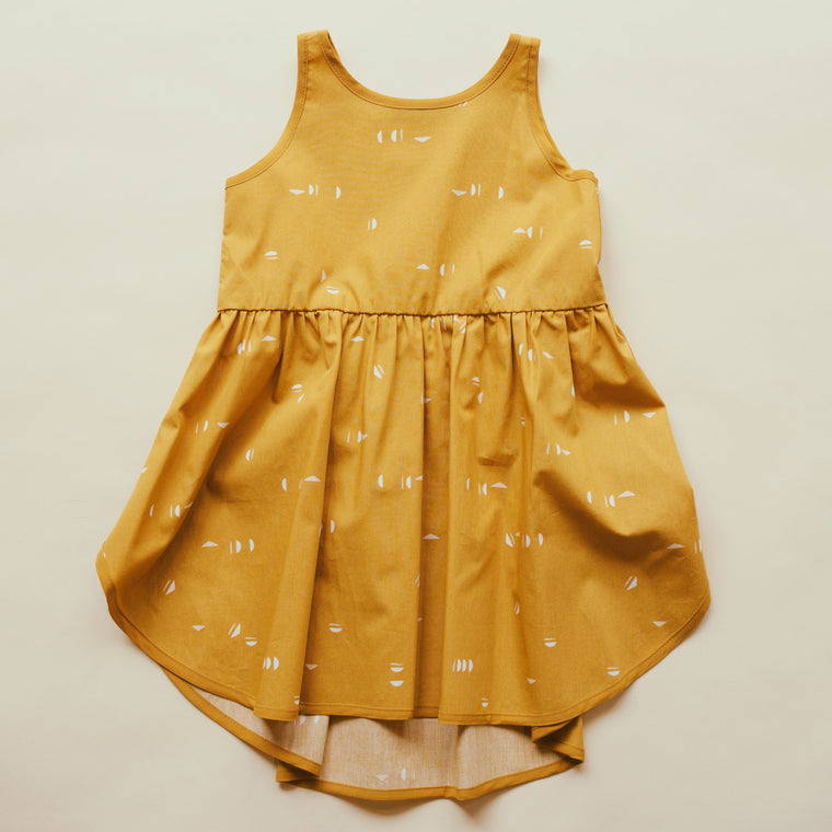 Robe HIRONDELLE - Ocre