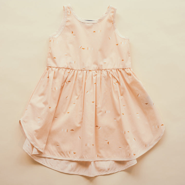 HIRONDELLE dress - Peach